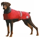 Dapper Dog Nylon Coat Red